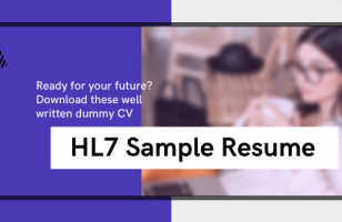 HL7 sample resume sv trainings